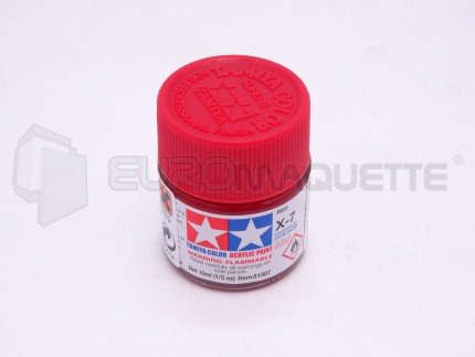 Tamiya - Rouge X-7 (pot 10ml)