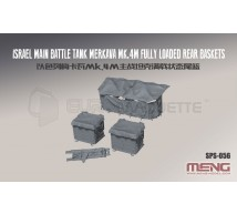 Meng - Merkava M4M rear baskets