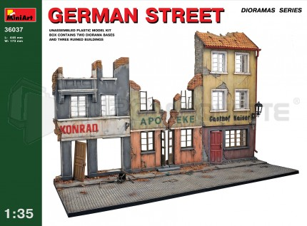 Miniart - German Street diorama