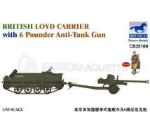 Bronco - Loyd & 6 Pdr gun