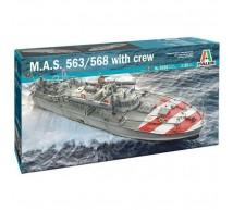 Italeri - MAS 563/568 & crew