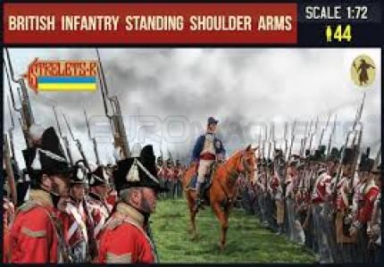 Strelets - British infantry standing shoulder arms
