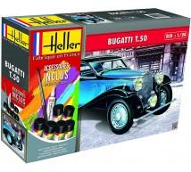 Heller - Coffret Bugatti T50