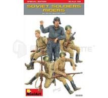 Miniart - Soviet tank raider WWII