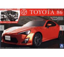 Aoshima - Toyota 86 & engine