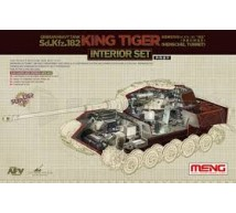 Meng - King Tiger Interior set (Meng)