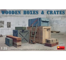 Miniart - Wooden boxes & crates