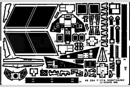 Eduard - F-117 A Nighthawk (tamiya)