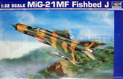 Trumpeter - Mig 21 MF fishbed J