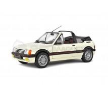 Solido - Peugeot 205 CTI Blanche 1989