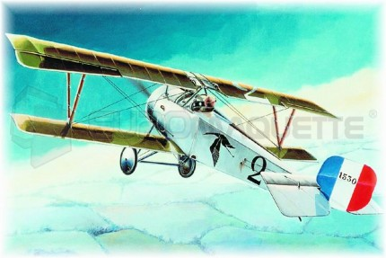 Eduard - Nieuport 17 Vieux Charles