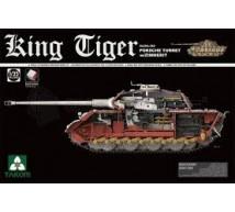 Takom - King Tiger Porsche full interior & Zimmerit