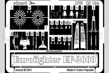 Eduard - Eurofighter EF-2000 (italeri)