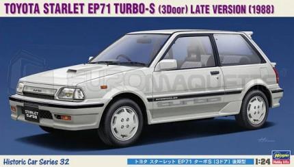 Hasegawa - Toyota Starlet EP71 Turbo S 1988