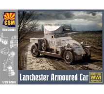Copper state models - Lanchester armored car 1916