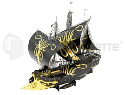 Metal earth - Greyjoy Silence ship (Iconix)