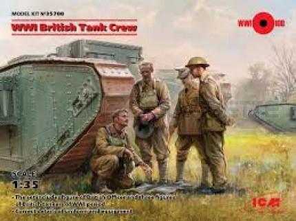 Icm - British Tank crew WWI