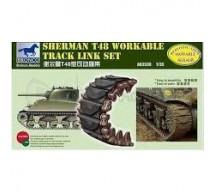Bronco - Sherman T48 Track link set