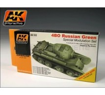 Ak interactive - Coffret  4BO Russe WWII