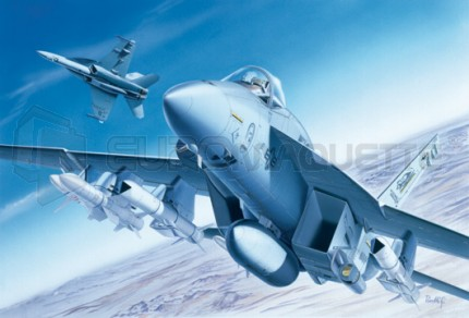 Italeri - F/A-18 E Super Hornet
