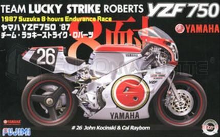 Fujimi - Yamaha YZF750 K Roberts 87