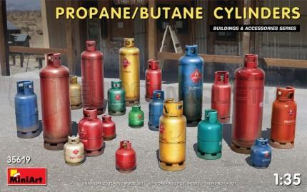 Miniart - Propane & Butane cylinders