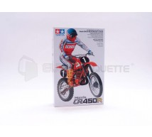 Tamiya - Honda CR450 R & rider