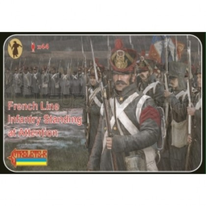 Strelets - French Line infantry at attention