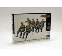 Master Box - Infantry on vehicules German WWII