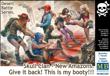 Master box - Skull clan New amazons