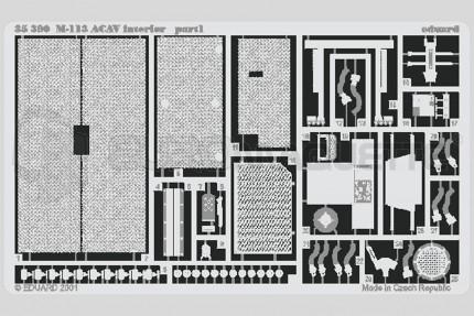 Eduard - M-113 ACAV interieur (acad.)