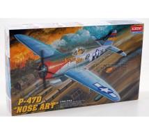 Academy - P-47D Thunderbolt nose art