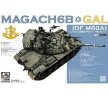 Afv club - IDF M60A1 GAL MAGACH 6B