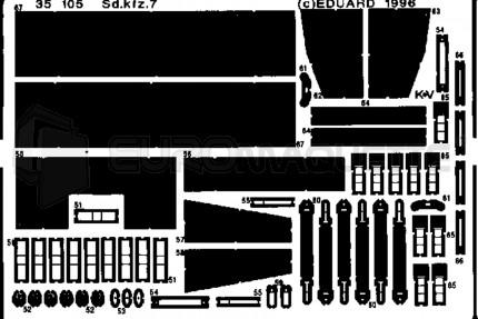Eduard - SdKfz 7  (tamiya)
