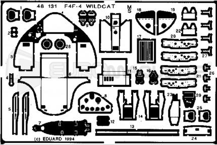 Eduard - F4F-4 Wildcat  (tamiya)