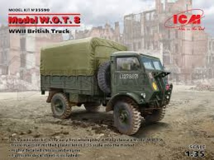 Icm - WOT 8 WWII truck