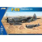 Kinetic - P-47D Mk I RAF & French decals