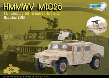 Dragon - M1025 Hummer &weapons