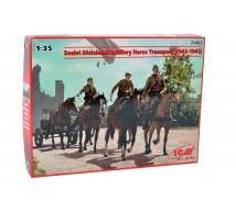 Icm - Soviet artillery horse transport