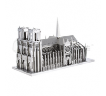 Metal earth - Notre Dame 3D metal kit