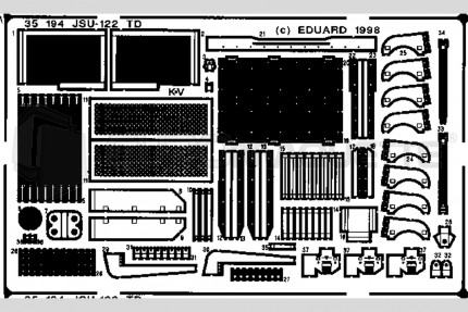 Eduard - JSU-122 TD (dragon)