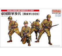 Fine molds - Japanese Infantry WWII