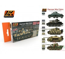 Ak interactive - Coffret German Panzer 37/44