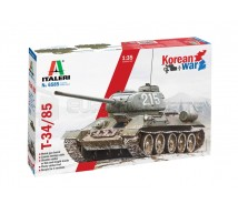 Italeri- T-34/85 Korean War