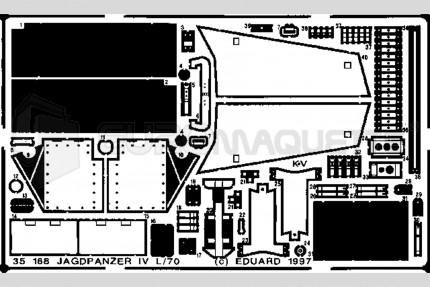 Eduard - Jagdpanzer IV/L70 (tamiya)