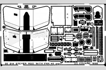 Eduard - Steyr RSO & Pak 40 (italeri)