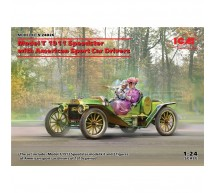 Icm - Ford T Speedster 1913 & drivers