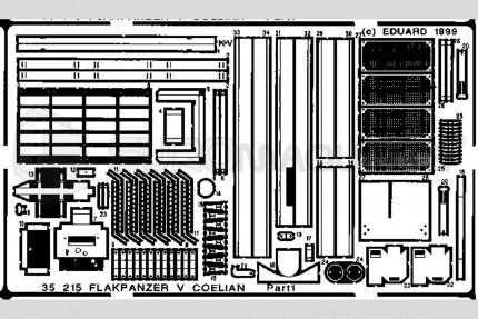 Eduard - Flakpanzer V Coelian (gunze)