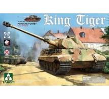 Takom - King Tiger Porsche & interior zimmerit & tracks