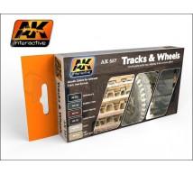Ak interactive - Coffret Tracks & Wheels